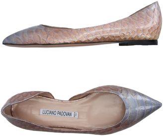 LUCIANO PADOVAN Ballet flats $288 thestylecure.com