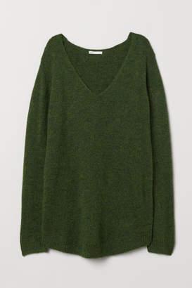 H&M MAMA Knit Sweater - Green