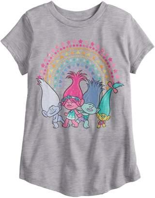 Girls 4-12 Jumping Beans DreamWorks Trolls Rainbow Graphic Tee