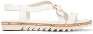 AGL studded strappy flat sandals