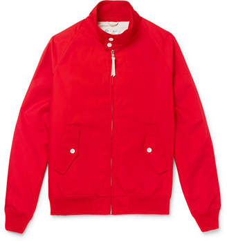 GoldenBear Golden Bear - Poplin Blouson Jacket - Men - Red