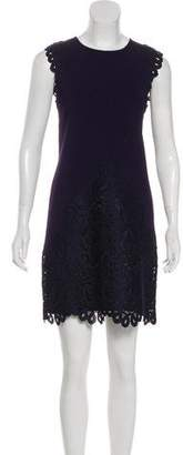 Ted Baker Lace-Trimmed Knit Dress w/ Tags