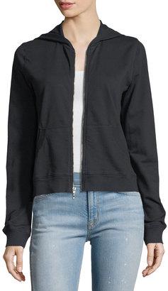 Allen Allen Cotton Zip-Front Jacket $55 thestylecure.com