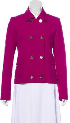 Barbara Bui Long Sleeve Button-Up Jacket