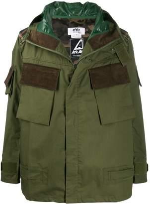 Junya Watanabe contrast-patch pocket jacket
