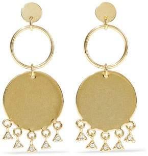 Luv Aj Gold-Tone Crystal Earrings
