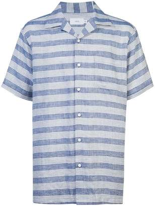 Onia Vacation striped chambray shirt
