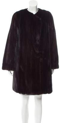 Cassin Mink Knee-Length Coat