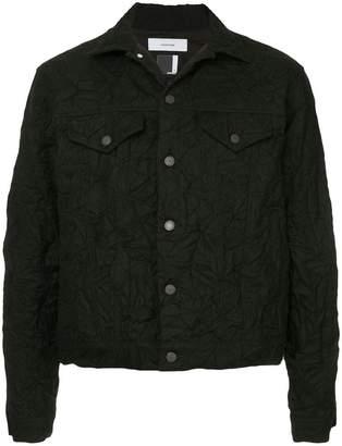 Facetasm x Woolmark crumpled denim jacket