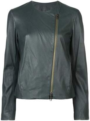 Vince off-centre zipped jacket