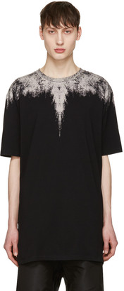 Marcelo Burlon County of Milan Black Yago T-Shirt $260 thestylecure.com