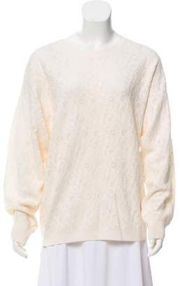 DKNY Wool Blend Lace Sweater w/ Tags