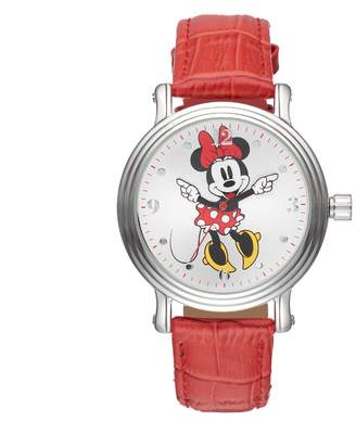 Disney's Minnie Mouse Women's Leather Watch $49.99 thestylecure.com