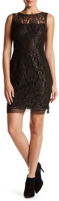 Julia Jordan Sleeveless Lace Dress $188 thestylecure.com