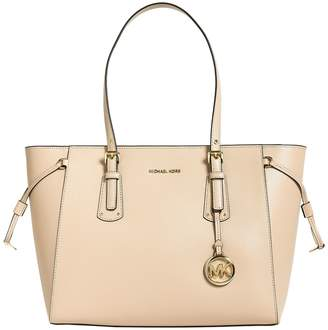 MICHAEL Michael Kors Leather Voyager Tote Bag