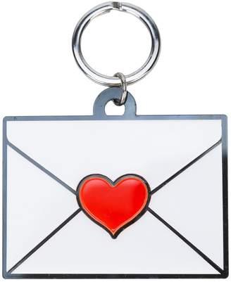 Yazbukey envelope heart keyring