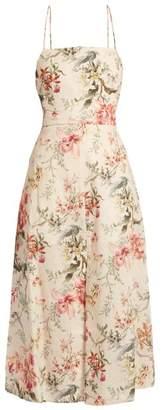 Zimmermann Mercer floral-print open-back dress