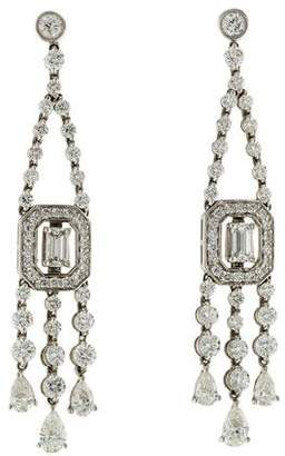 Kwiat 18K Diamond Chandelier Earrings