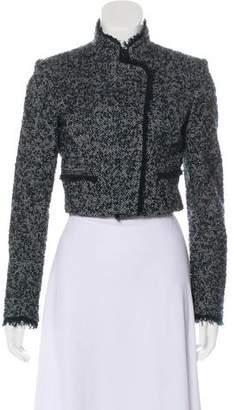 Theory Cropped Tweed Blazer