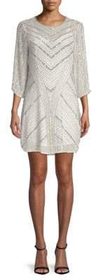 Parker Black Tetra Shfit Dress