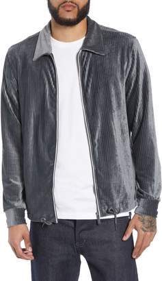 NATIVE YOUTH Ribbed Velour Jacket