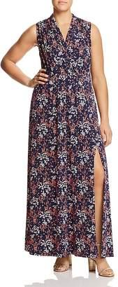 MICHAEL Michael Kors Floral-Print Knit Maxi Dress