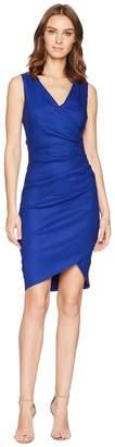 Nicole Miller Stretch Linen Stefanie Dress Women's Dress