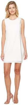 Jessica Simpson Sleeveless Front Drape Dress Women's Dress