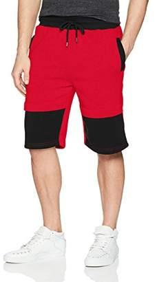 Southpole Men's Fleece Jogger Shorts