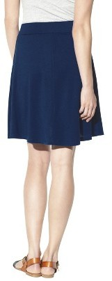 Merona Women's Knit Casual Button Skirt - Assorted Colors