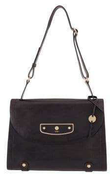 Lodis Pismo Pearl Parisa Leather Flap Briefcase