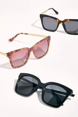 Free People Bella Square Sunglasses
