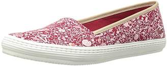 Lacoste Women's Orane 316 1 Caw Red Flat $33.33 thestylecure.com