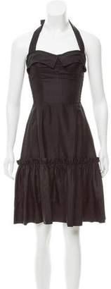 Karen Walker Silk Halter Dress