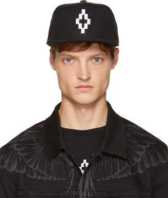 Marcelo Burlon County of Milan Black Starter Edition Cruz Cap $95 thestylecure.com