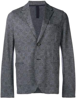 Harris Wharf London checked blazer