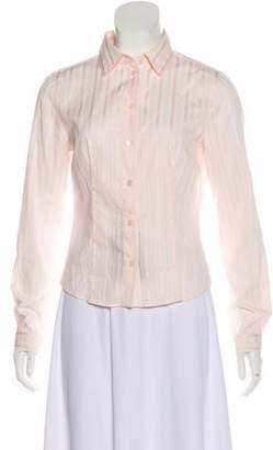 Prada Long Sleeve Button-Up