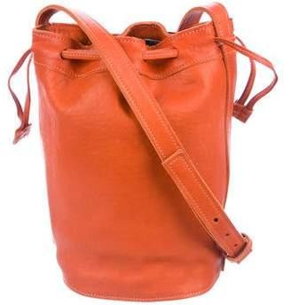 Shinola Leather Bucket Bag