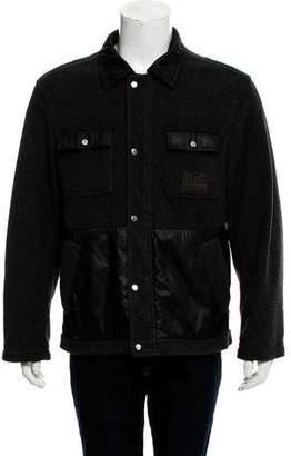 Dolce & Gabbana Lightweight Zip-Up Jacket