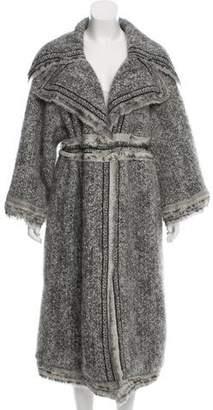 Chanel Mohair-Blend Coat