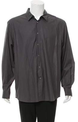 John Varvatos Woven Button-Up Shirt