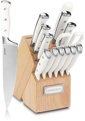 Cuisinart Triple Rivet 15-Piece Cutlery Block Set