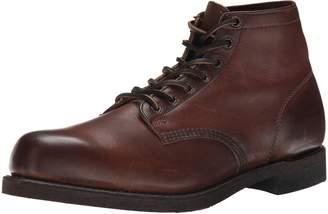Frye Men's Prison Boot, Cognac Soft Vintage Leather-84154