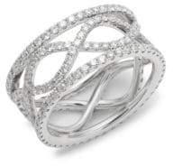 Kwiat Wave Diamond & 18K White Gold Ring