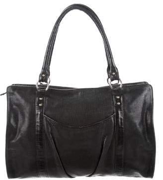 Lauren Merkin Leather Satchel Bag