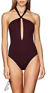 Eres Women's Poker Score One-Piece Swimsuit - Wine