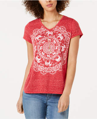 Style&Co. Style & Co Graphic T-Shirt