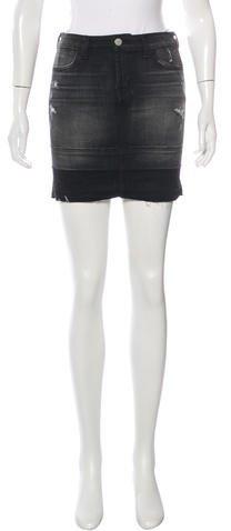 J BrandJ Brand Denim Distressed Skirt w/ Tags