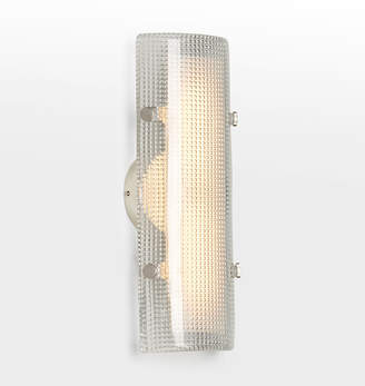"Rejuvenation Willamette 16"" LED Diamond Glass Wall Sconce"