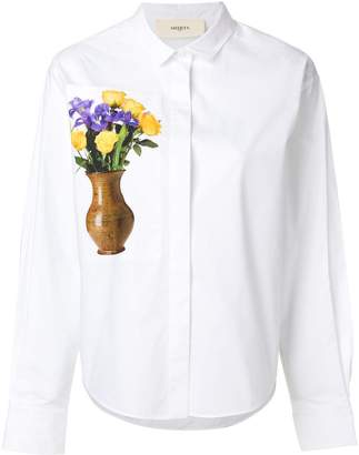 Ports 1961 floral-print shirt
